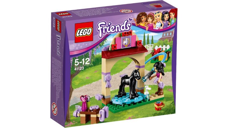 Brinquedo Lacrado Lego Friends Foal's Washing Station 41123