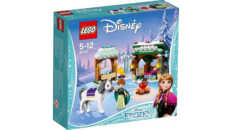 Brinquedo Lego Disney Princess Aventura Na Neve Anna 41147