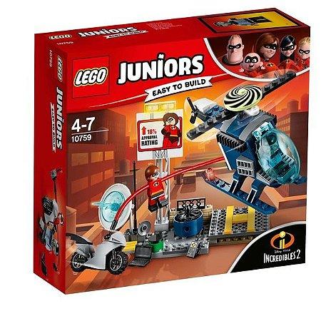 Lego Juniors Perseguição Do Telhado Da Sra Incrivel 10759