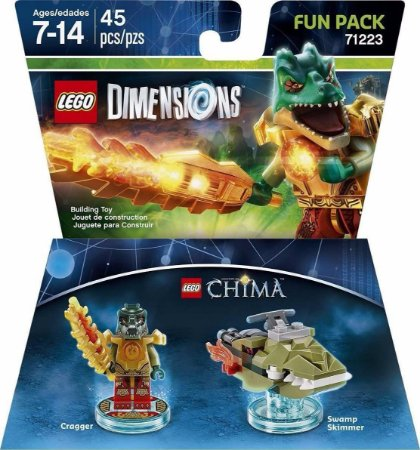 Kit Lego Dimensions Fun Pack Lego Chima Cragger 71223