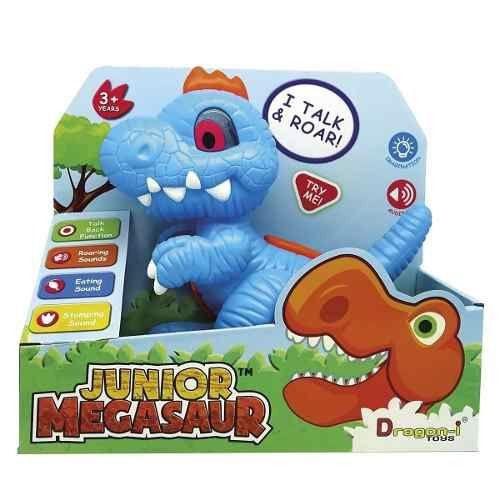 Junior Megasaur Dino Interativo Fala Luz E Sons T-rex Fun