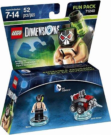 Brinquedo LEGO Dimensions Bane Dc Comics Fun Pack 71240