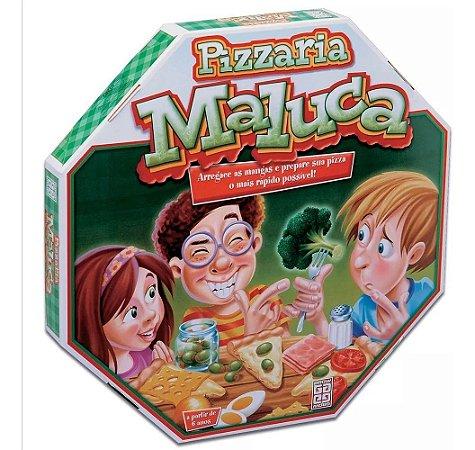 Jogo De Tabuleiro Pizzaria Maluca Original Para Grow