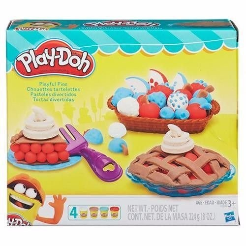 Massinha Novo Play Doh Tortas Divertidas Hasbro B3398
