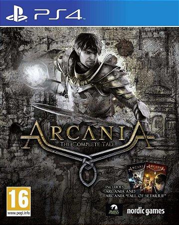 Jogo Novo Lacrado Arcania The Complete Tale Playstation Ps4