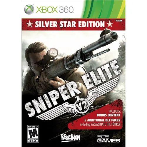 Jogo Mídia Física Original Sniper Elite V2 Para Xbox 360