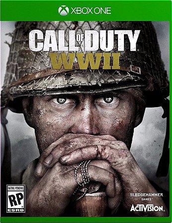 Jogo Mídia Física Call Of Duty Wwii Em Português Xbox One