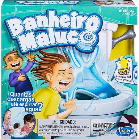 Brinquedo Banheiro Maluco Muita diversão C0447 Hasbro