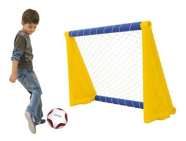 Brinquedo Para Playground Xalingo Trave De Gol Com Bola