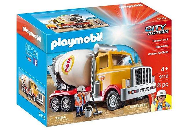 Playmobil City Action Caminhão De Obras 9116 Sunny
