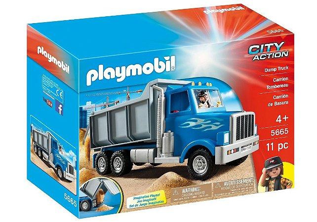Playmobil City Action Caminhão Basculante 5665 Sunny