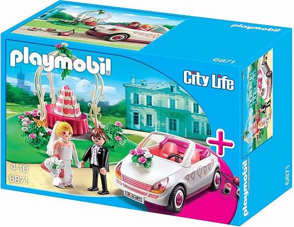 Brinquedo Playmobil City Life Celebração Do Casamento 6871