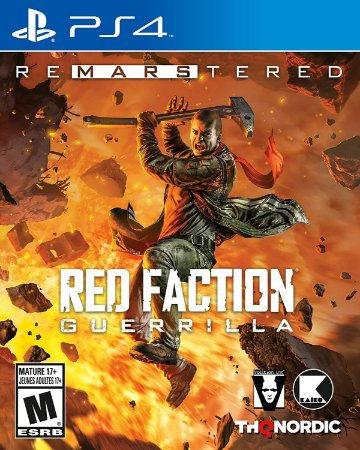 Jogo Lacrado Red Faction Guerrilla Re Mars Tered Edition PS4
