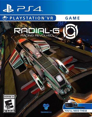 Jogo Lacrado Radial G Racing Evolved para VR PS4