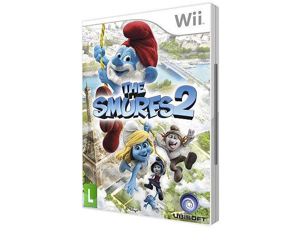 Jogo Novo Lacrado Da Ubisoft Os Smurfs 2 Para Nintendo Wii