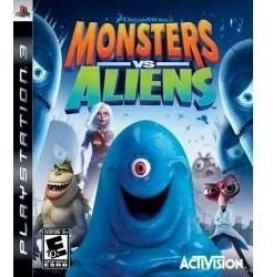 Jogo Americano Monsters Vs Aliens Dreamworks Para Ps3
