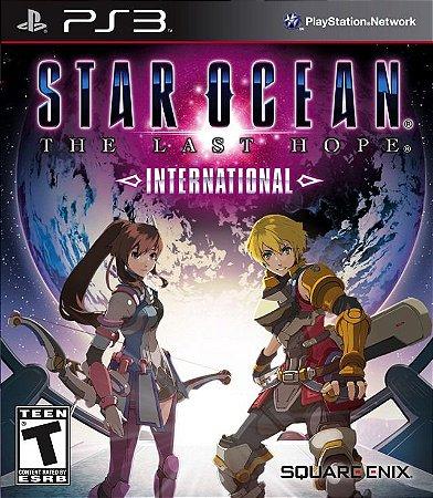 Jogo Novo Star Ocean The Last Hope International Para Ps3