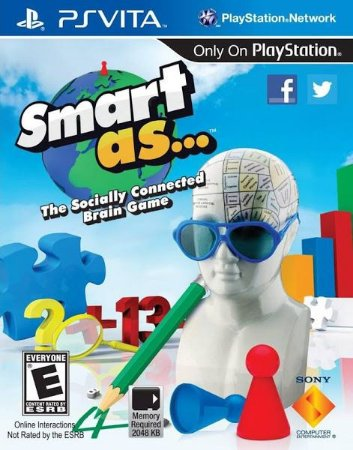 Jogo Novo Lacrado Smart As Para Playstation Vita ps Vita