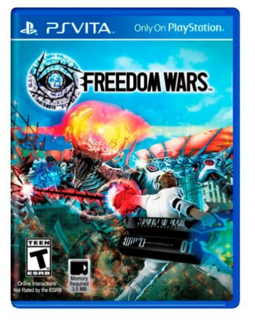 Jogo Novo Lacrado Freedom Wars Para Playstation Vita Ps Vita
