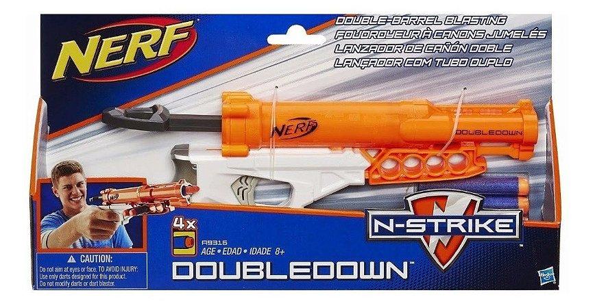 Lançador Nerf N Strike Doubledown Hasbro A9316