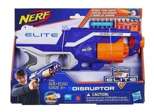 Lança Nerf Elite Disruptor Accustrike 12 Dardos Hasbro B9838