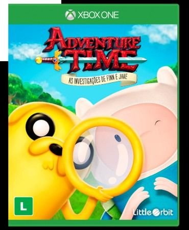 Jogo Adventure Time As Investigações De Finn E Jake Xbox One