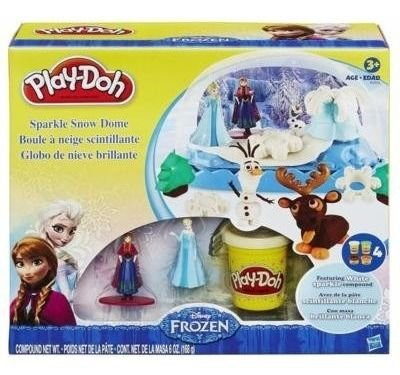 Massinha Play Doh Globo De Neve Disney Frozen Playdoh B0656