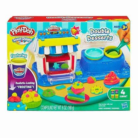 Brinquedo Play Doh Sobremesas Duplas Original Hasbro A5013