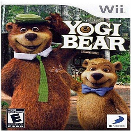 Jogo Novo Lacrado Yogi Bear , Zé Colmeia Para Nintendo Wii