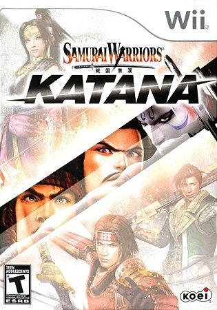 Jogo Samurai Warriors Katana Lacrado Para Nintendo Wii