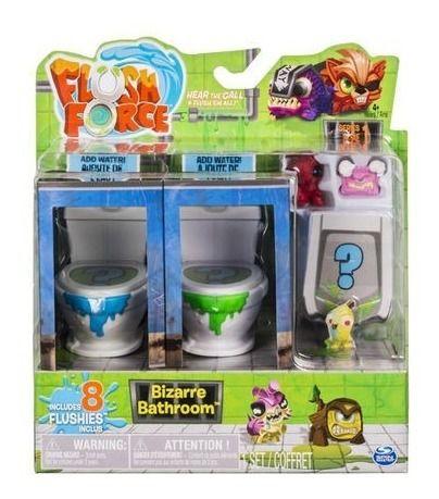 Brinquedo Flush Force Bizarre Bathroom Com 8 Flushies