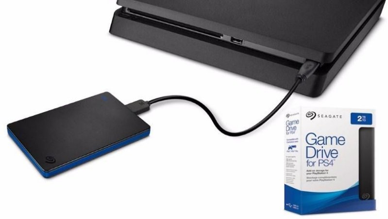 Acessório Hd Externo 2tb Seagate Game Drive For Ps4 Usb 3.0