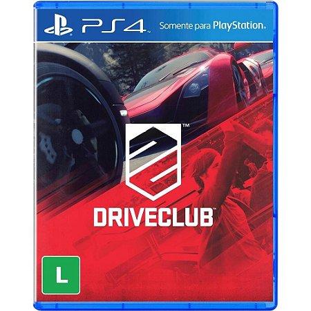 Jogo Novo Lacrado Driveclub Para Playstation 4 Ps4