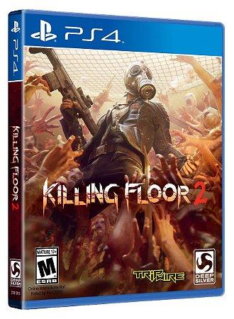 Jogo Midia Fisica Novo Killing Floor 2 Para Ps4