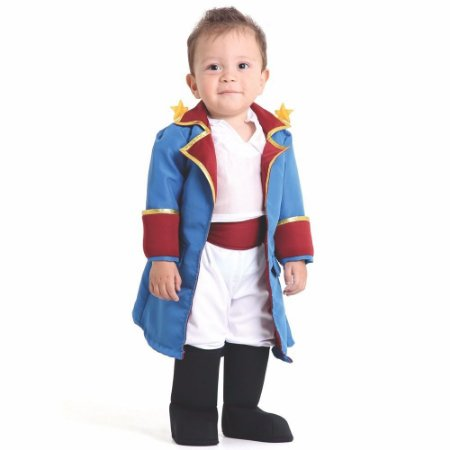 Fantasia Infantil Pequeno Príncipe Bebê Sulamericana 15131