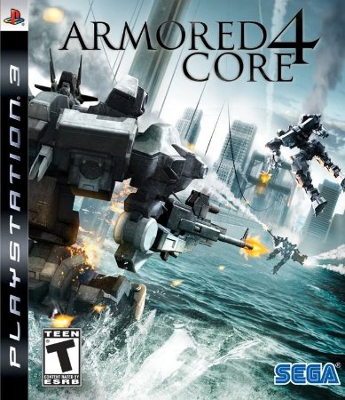 Jogo Novo Lacrado Armored Core 4 Para Playstation 3 Original
