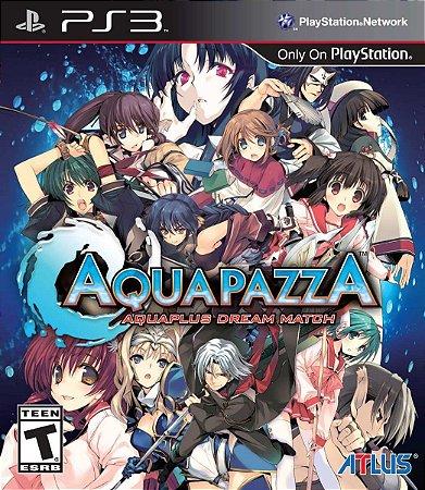 Jogo Novo Lacrado Aquapazza Para Playstation 3