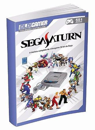 Livro Old Gamer Coleção Consoles Segasaturn Volume 8