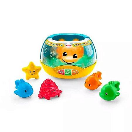 Brinquedo Fisher Price Aquário Luzes Mágicas Fisher Price