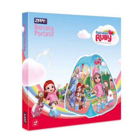 Barraca Portatil Zippy Toys Rainbow Ruby BP18RR