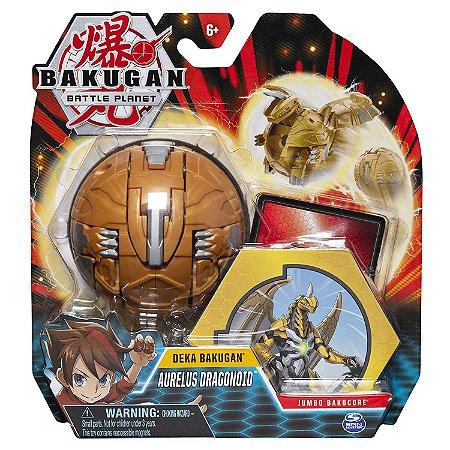 Figura e Acessorios Bakugan Gigante Aurelus Dragonoid 2074
