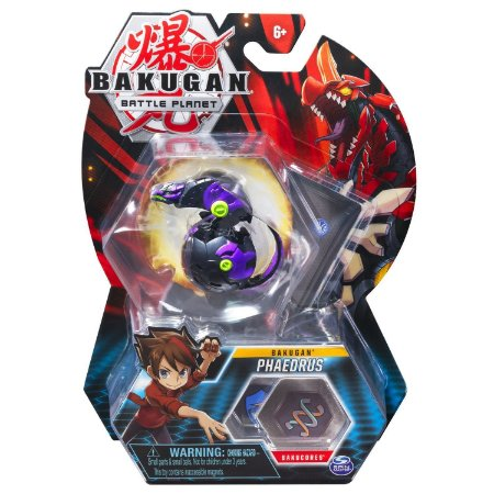 Figura e Card Bakugan Battle Planet Phaedrus da Sunny 2070