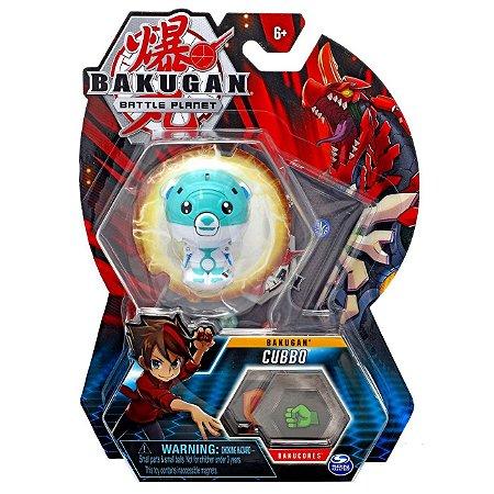 Figura e Card Bakugan Battle Planet Esfera Cubbo Sunny 2070