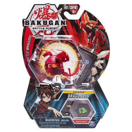 Figura e Card Bakugan Battle Planet Dragonoid da Sunny 2070