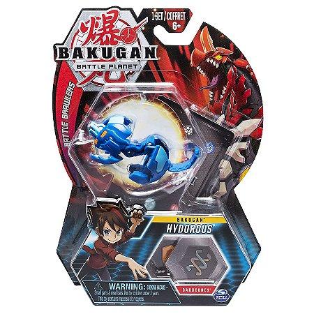 Figura e Card Bakugan Battle Planet Hydorous da Sunny 2070