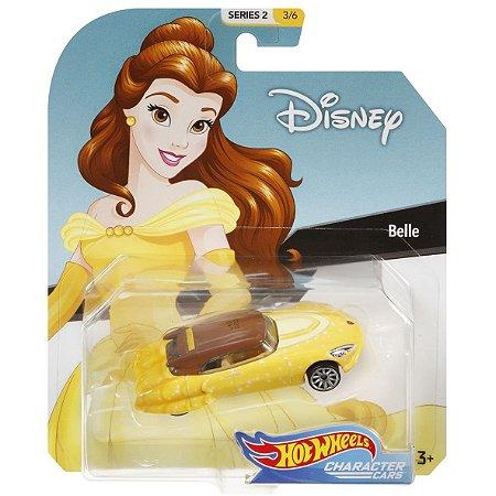 Hot Wheels Disney Character Cars Princesa Bela Mattel Gck28