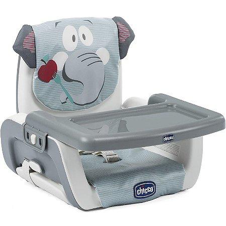 Cadeira Assento Elevatorio Mode Baby Elephant Cinza Chicco