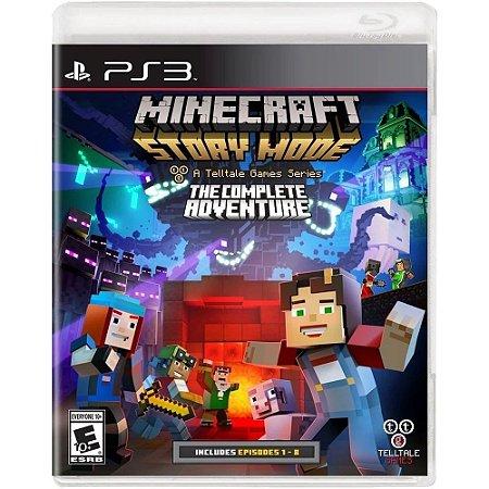 Jogo Novo Midia Fisica Minecraft Story Mode The Complete Adv