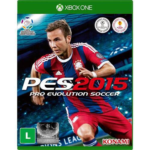Jogo Original Mídia Física Pes 2015 Para Xbox One