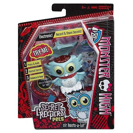 Figura Monster High Pets Secretos Monstruosos Coruja Cbd42